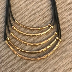 Chico's ford and gold necklace